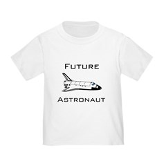 Future Astronau Toddler T-Shirt
