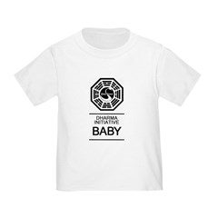 "Dharma Initiative ""Baby"" Toddler T-Shirt"