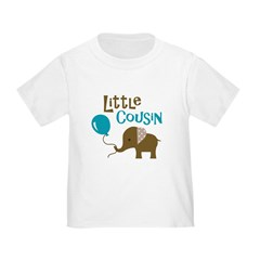 Little Cousin - Mod Elephant Toddler T-Shirt