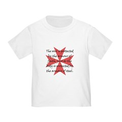 Templar Cross Toddler T-Shirt