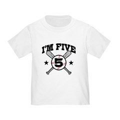 5 Year Old Toddler T-Shirt