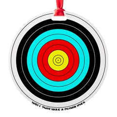 Archery Lover Round Ornament