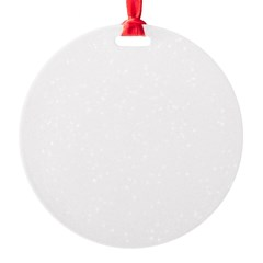Oy with the Poodles Round Ornament