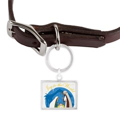 nativity scene cp.png Large Landscape Pet Tag