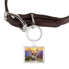 Chihuahua Meadow Large Landscape Pet Tag