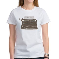 Typewriter Women's T-Shirt