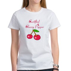 Certified Cherry Popper Women's T-Shirt
