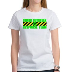 Zombie Outbreak Response Team Women's T-Shirt