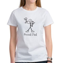 Proud Dad Ash Grey Women's T-Shirt