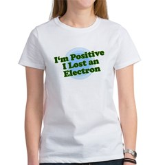 I'm Positive, I lost an elect Ash Grey Women's T-Shirt