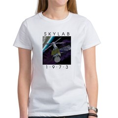 Shrox Space Art Skylab Women's T-Shirt