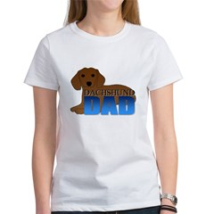 Dachshund Dad Women's T-Shirt