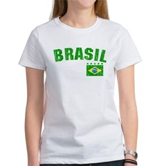 BRAZIL-BLACK-worn Women's T-Shirt