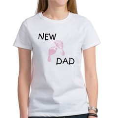 New Dad PINK Women's T-Shirt