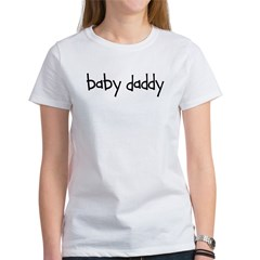 Baby Daddy Line! Ash Grey Women's T-Shirt