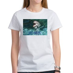 dolphin-keep smiling.jpg Women's T-Shirt