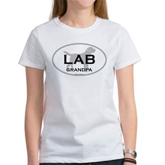 Lab GRANDPA Women's T-Shirt