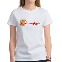 schnitzengiggle-black Women's T-Shirt