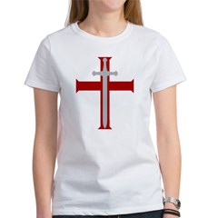 Crusader Sword Women's T-Shirt