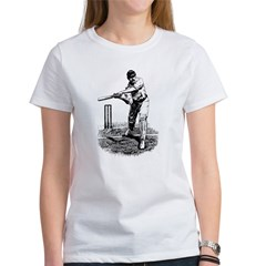 Cricket Player Women's T-Shirt