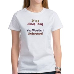 Sheep Thing Women's T-Shirt