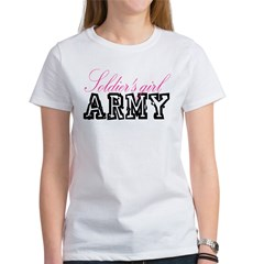 Soldier's girl Women's T-Shirt