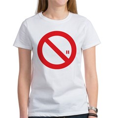 Classic No Smoking Women's T-Shirt