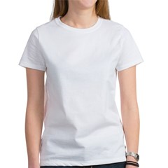 TD-Lightning Bolt White Women's T-Shirt