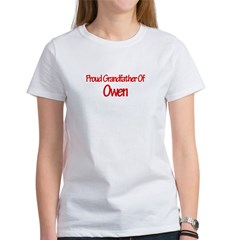 Proud Grandfather of Owen Women's T-Shirt