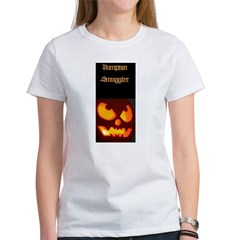 """Pumpkin Smuggler"" Women's T-Shirt"