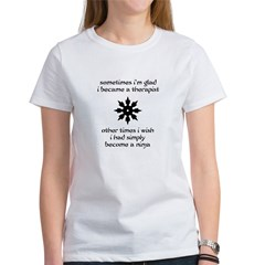 Ninja Therapist Women's T-Shirt