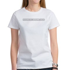 3-phoneticdrumsolo2 Women's T-Shirt