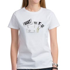 I want tofu! Women's T-Shirt