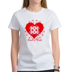 Queen of Quilts- Women's T-Shirt