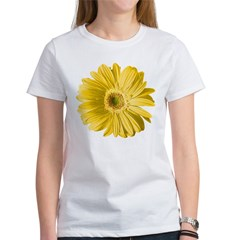 Pop Art Yellow Daisy Women's T-Shirt