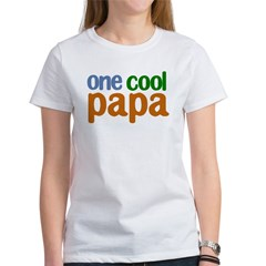 one cool papa grandpa t-shirts Women's T-Shirt