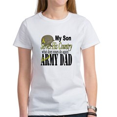 Army Son Serves Women's T-Shirt