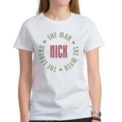 Nick Man Myth Legend Women's T-Shirt