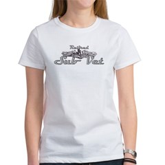 retired sub vet Silver Women's T-Shirt