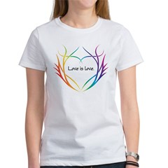 Tribal (Heart) - Light Tee Shirts Women's T-Shirt