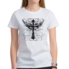 Winged Cross Women's T-Shirt