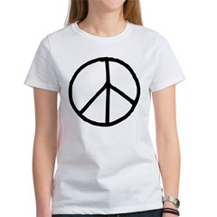 Peace Symbol Women's T-Shirt