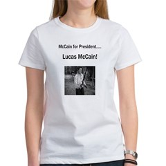 Lucas McCain for President.jpg Women's T-Shirt