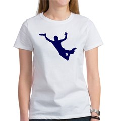 BLUE DISC CATCH Women's T-Shirt