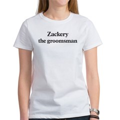 Zackery the groomsman Women's T-Shirt