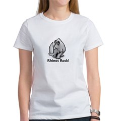 Rhinos Rock! Women's T-Shirt