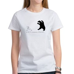 Exit, Pursued By A Bear - Women's T-Shirt