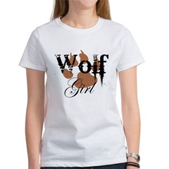 Wolf Girl Women's T-Shirt