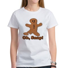 Gingerbread Snap Women's T-Shirt
