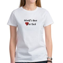 World's Best Vet Tech Women's T-Shirt